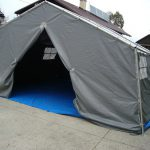 Vojaški šotor – Kampiranje za večje število ljudi