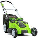 Lastnosti kosilnice GreenWorks 25302 G-MAX
